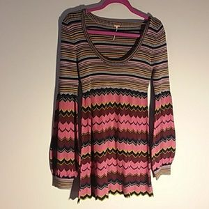 Free people light weight sweater dress